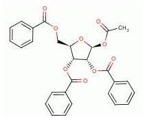 1 - ацетил - 2,3,5 - трибензоил - 1 - бета - д - фуран